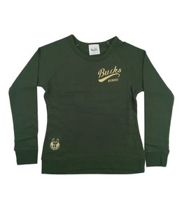 SPORTIQUE WOMENS BUCKS REVERSIBLE DUGOUT CREW