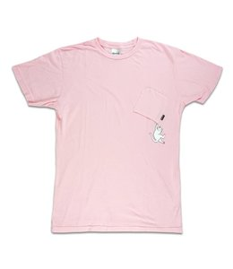 RIPNDIP HANG IN THERE NERMAL POCKET TEE