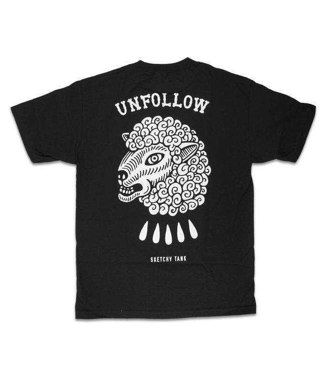 SKETCHY TANK Unfollow T-Shirt