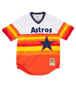 MITCHELL AND NESS NOLAN RYAN 980 AUTHENTIC JERSEY HOUSTON ASTROS