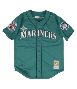 MITCHELL AND NESS KEN GRIFFEY JR. 1995 AUTHENTIC JERSEY SEATTLE MARINERS