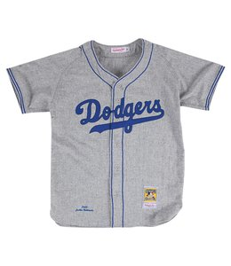 MITCHELL AND NESS JACKIE ROBINSON 1955 AUTHENTIC JERSEY BROOKLYN DODGERS