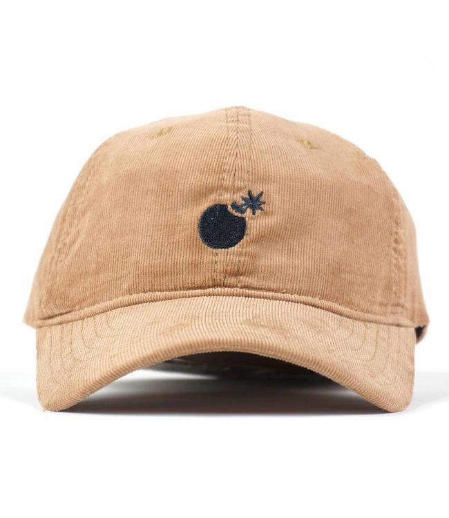THE HUNDREDS Solid Bomb STRAPBACK Hat