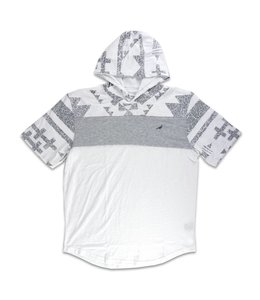 STAPLE TRIBE HOODED TEE