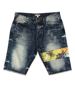 STAPLE SAFARI DENIM SHORT