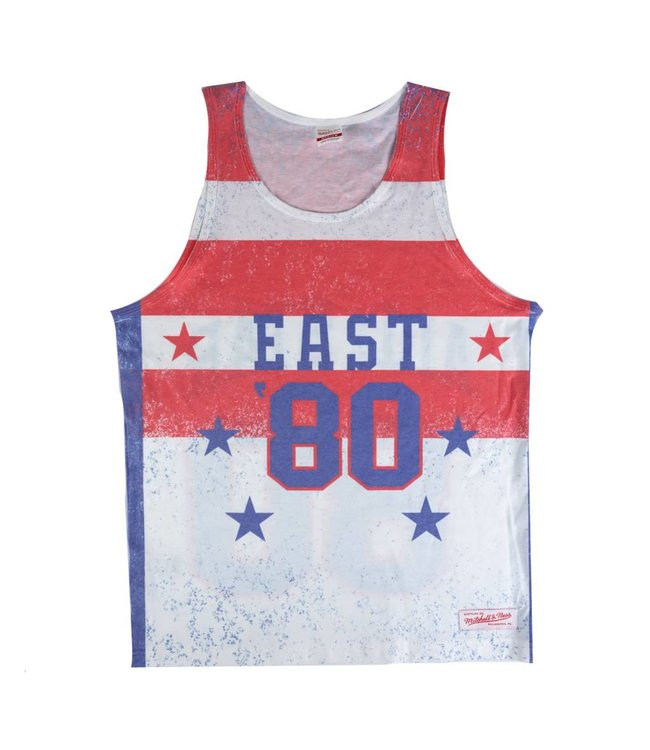 MITCHELL AND NESS NBA ALL-STAR PLAYOFF WIN SUBLIMATED TANK TOP