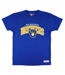 MITCHELL AND NESS BREWERS ARCH TEE