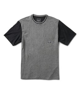 PRIMITIVE COLLAR STRIPE TEE