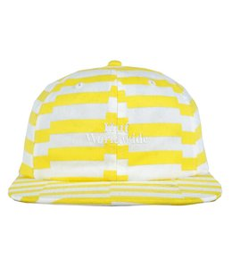HUF OFFSET STRIPE 6 PANEL