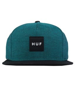 HUF CHAMBRAY BOX LOGO SNAPBACK