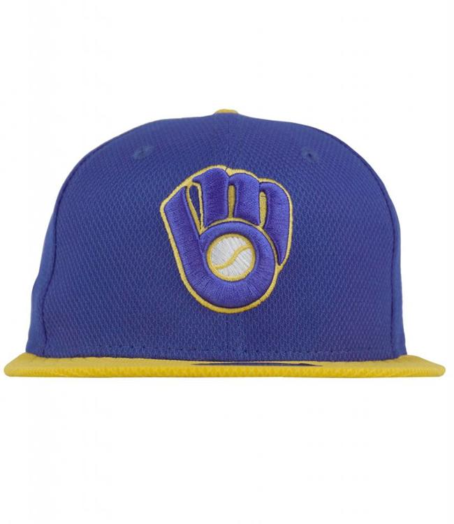 NEW ERA MILWAUKEE BREWERS CLUTCH FITTED HAT