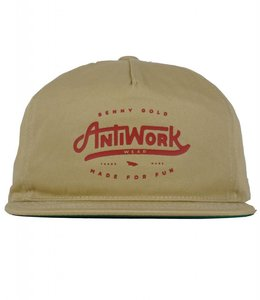BENNY GOLD ANTI-WORK SNAPBACK