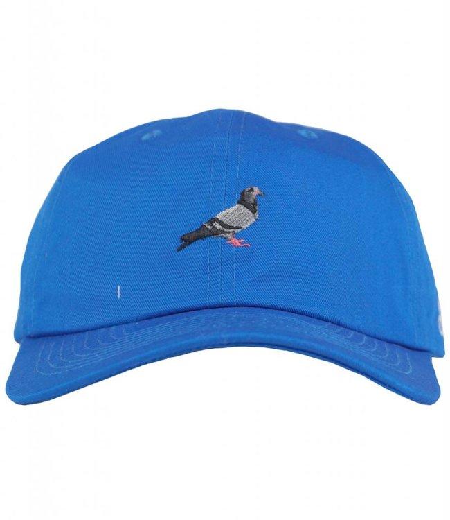 STAPLE PIGEON SCRIPT STRAPBACK HAT