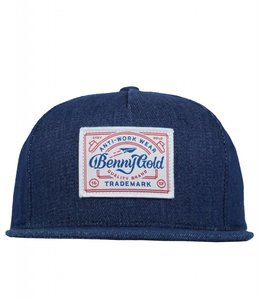 BENNY GOLD UNION DENIM STRAPBACK
