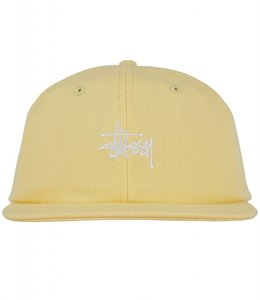 STUSSY SMOOTH STOCK CANVAS STRAPBACK