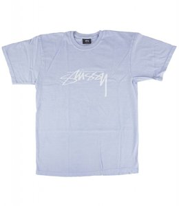 STUSSY SMOOTH STOCK PIGMENT DYED TEE