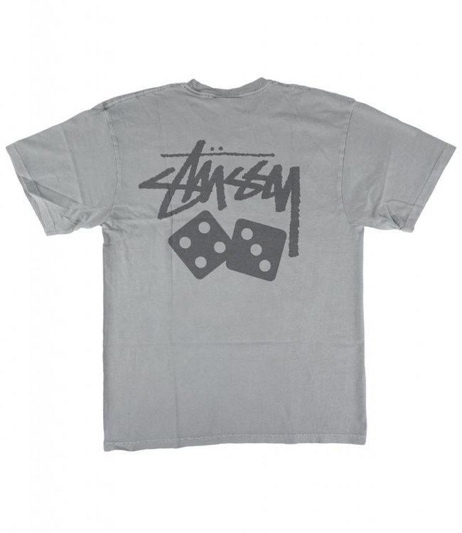 STUSSY DICE PIGMENT DYED T-SHIRT