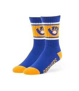 '47 BRAND MILWAUKEE BREWERS DUSTER SPORT SOCK