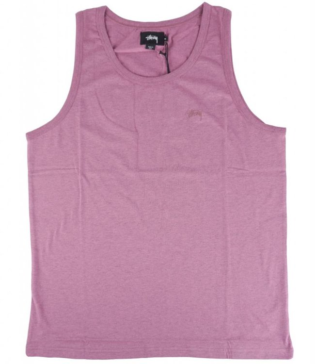 STUSSY HEATHER O'DYED TANK TOP