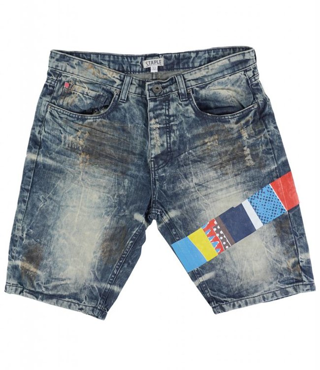 STAPLE TOTEM DENIM SHORT