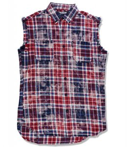 STAPLE PLAID SLEEVELESS WOVEN