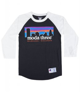 MODA3 CITY LOGO CHAMPION RAGLAN