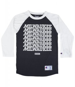 MODA3 MILWAUKEE CHAMPION RAGLAN