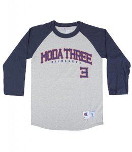 MODA3 BRAVES CHAMPION RAGLAN
