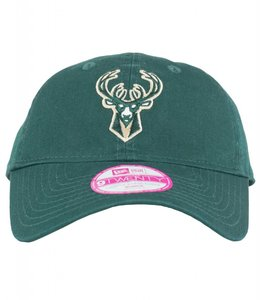 NEW ERA WOMENS BUCKS GLISTEN STRAPBACK HAT