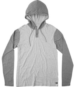 RVCA PICK UP HOODED HENLEY