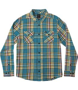 RVCA CAMINO LONG SLEEVE FLANNEL SHIRT