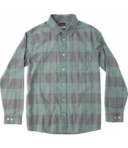 RVCA ELLIS CHECK LONG SLEEVE PLAID SHIRT