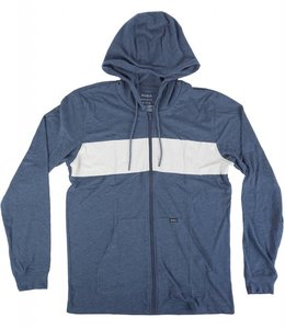 RVCA LINE UP FULL-ZIP HOODIE