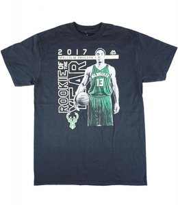 MAJESTIC MALCOLM BROGDON ROOKIE OF THE YEAR TEE