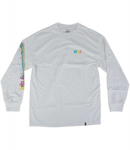 HUF WHO ARE U LONG SLEEVE TEE