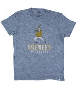 '47 BRAND MILWAUKEE BREWERS TRI-STATE TEE
