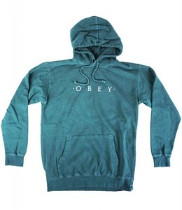 OBEY NOVEL OBEY PIGMENT HOODIE