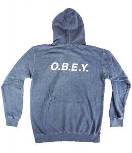 OBEY O.B.E.Y. BASIC PIGMENT HOODIE