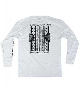 OBEY LAWS BASIC LONG SLEEVE TEE