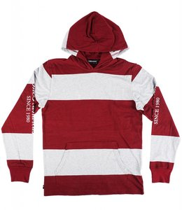 THE HUNDREDS BORLAND LONG SLEEVE HOODED SHIRT