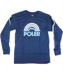 POLER MOUNTAIN RAINBOW LONG SLEEVE TEE