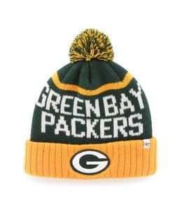 '47 BRAND GREEN BAY PACKERS LINESMAN CUFF BEANIE