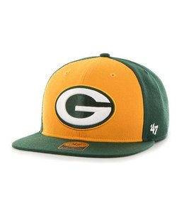 '47 BRAND GREEN BAY PACKERS SUPER MOVE CAPTAIN HAT