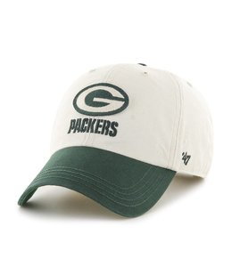 '47 BRAND GREEN BAY PACKERS HORSESHOE CLEAN UP HAT