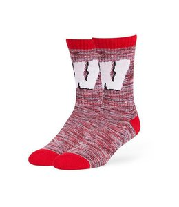 '47 BRAND WISCONSIN BADGERS LEROY SOCK