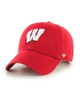 '47 BRAND WISCONSIN BADGERS CLEAN UP HAT