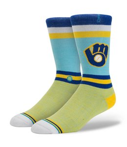 STANCE SOCKS MILWAUKEE BREWERS BREW CREW SOCK