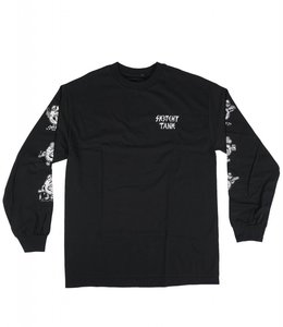 SKETCHY TANK PARTY SIXES LONG SLEEVE TEE
