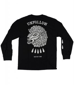 SKETCHY TANK UNFOLLOW LONG SLEEVE TEE