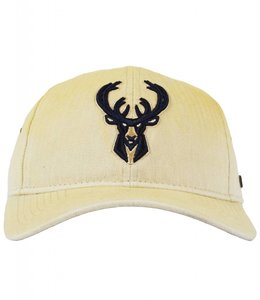 NEW ERA BUCKS HERRINGBONE PRIMARY LOGO HAT